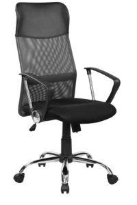 Scaun de birou ergonomic Kring Fit, Mesh Negru