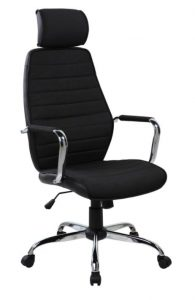 Scaun de birou ergonomic Kring Walter, cu tetiera, Negru Cod produs: 6426228024279