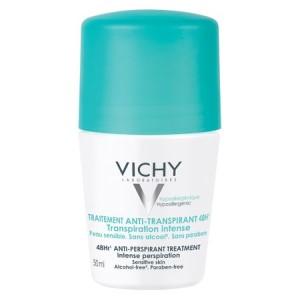 Deodorant roll-on antiperspirant Vichy cu parfum