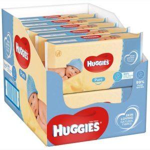 Servetele umede Huggies Pure
