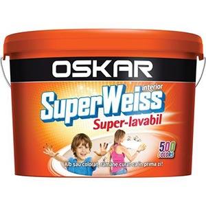 Vopsea lavabila Oskar Superweiss