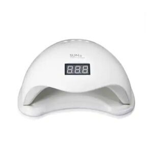 Lampa-manichiura-UV-LED-SUN5-Cu-Afisaj-Putere-48-wati-si-Aprindere-Automata-la-introducera-mainii