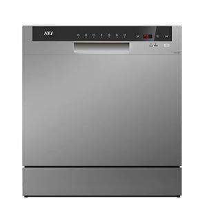 Masina spalat vase compacta NEI NDW8S-3802FS, A+, 8 seturi, 7 programe