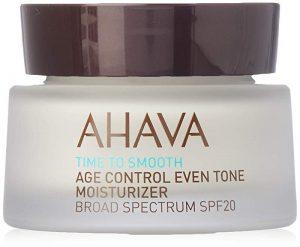 Crema hidratanta de zi antirid SPF 20 Time to Smooth Age Control, Ahava
