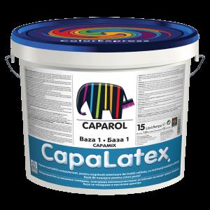 Vopsea lavabila mata, Caparol CapaLatex, 15l