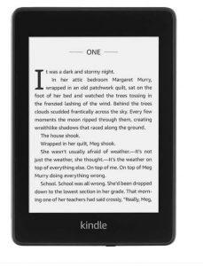 eBook reader Kindle Paperwhite 2018
